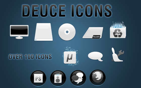 DEUCE icons update by invaderjohn