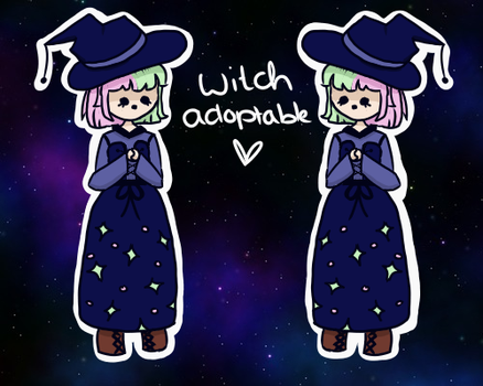 ADOPTABLE Witch :{OPEN}: by xCutieSaur