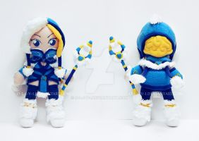 Crystal Maiden Plush by O-l-i-v-i