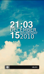 Android Lockscreen Dec 16th by kinesthesia