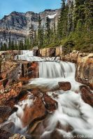 Giant Steps Waterfall by La-Vita-a-Bella