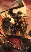 Fight for Hellscream by shawnfox520