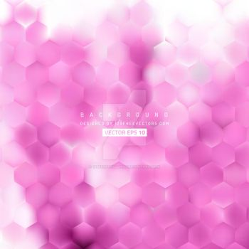 Pink Hexagon Geometric Background Free Vector by 123freevectors