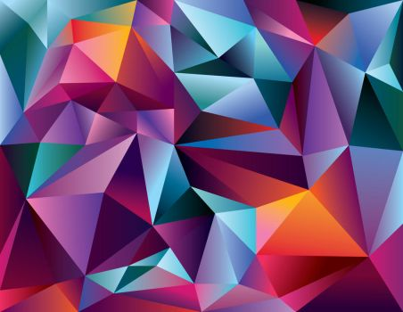 Low Poly Triangle Wallpaper by Raina-Rasberry