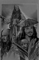 Jack Sparrow Collage by prmedia