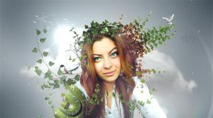 Nature enchantress by Swpp