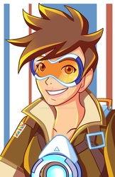 Overwatch Tracer by TheCrayonQueen