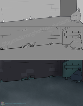 GB: Alley Rough and Final by SlayersStronghold