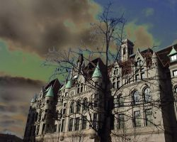Haunted House by fablehill