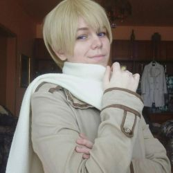 Hetalia Russia cosplay by ArisuSutcliff