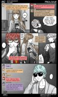 MC Prologue Pg 11 Mystic Messenger Fan Comic by MariStoryArt