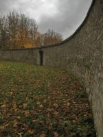 Long Curved Wall by simfonic