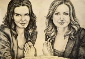 Rizzoli and Isles by lucyanna23