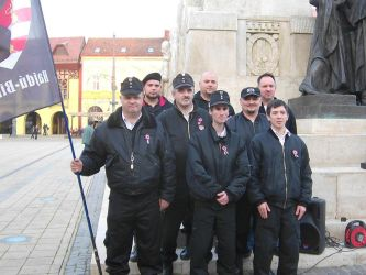 New Hungarian Guard Movement Group photo 2014 by Wakko2010