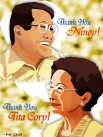 Ninoy and Cori Tribute by KenZacal