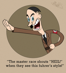 Cuphead: Adolf Hitler in NAZI NONSENSE by LWB-the-FluffyMystic