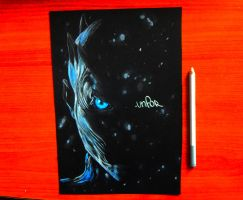 GOT The night king drawing | link bellow by Unfor-street-arT