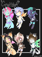 Goobble Cheebs! [Closed] by Onirini