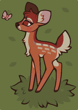 Bambi by CrookedAntlers