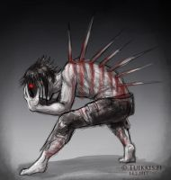 Wounded Beast by CPT-Elizaye