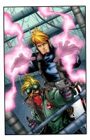 WILDCats colors by MarkHRoberts