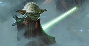 Yoda by JohnathanChong