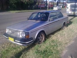 1978 Volvo 242 GT by TricoloreOne77