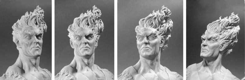 Firelord Mini-bust - Headshots by No-Sign-of-Sanity