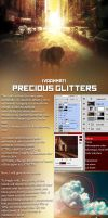 TUTORIAL How to get precious glitters by IvaanMR11 by IvaanMR11