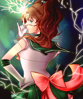 SM: Sailor Jupiter by iza-chan