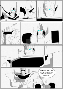 You Broke My Statue by Blitzy-Blitzwing
