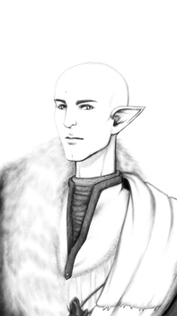 Solas from Dragon age inquisition by FlowersOfSakura