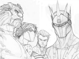 SuperAntiHeroes by Either-Art