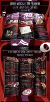 Coffee Music Cafe Menu by CauseThought