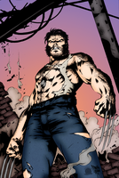 After Battle Wolverine by Blackmoonrose13