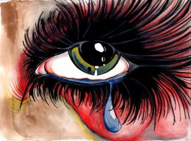 Painful tears by klody