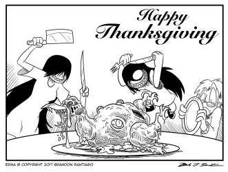 Happy Thanksgiving 2017 by OUTCASTComix