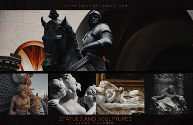 Statues and Sculptures ( Stock Pack ) #122 by LilithDemoness