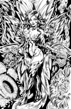 Poison Ivy Inks by CdubbArt