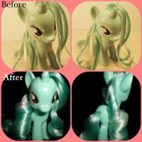 Before and After Lyra Heartstrings by MidnightRarity