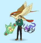 Self-Pokemon-Trainer by Man9u