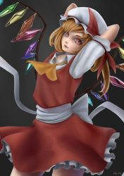 Flandre Fan Art / Re Re Draw by Killerjaja