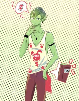 Beast Boy by hakutheawesome
