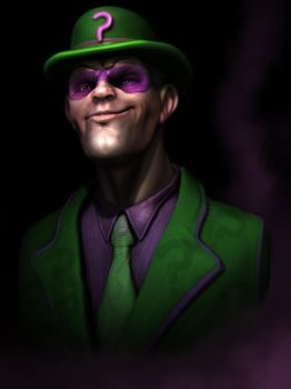 The Riddler by CRYart-UK