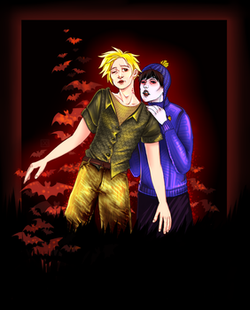 Craig Tucker!vampire|Tweek Tweak by maryallen138
