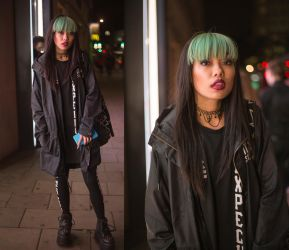 Grunge Street Girl at London 2015.05.16 by TMProjection