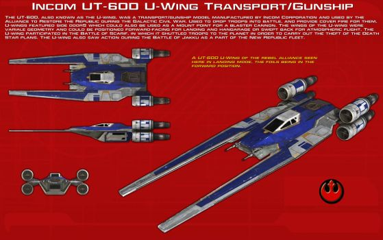 UT-60D U-Wing Transport-Gunship ortho [1][New] by unusualsuspex
