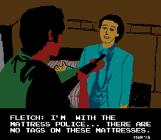 Fletch 8 Bit by gaudog