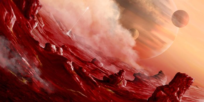 Crimson Wastelands by Luckland