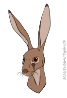 A Baleful Hare by Tephra76